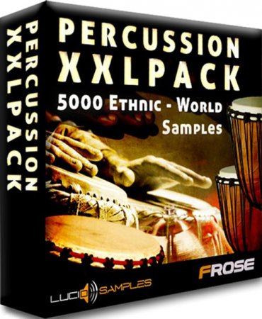 Lucid Samples Percussion XXL Pack World and Ethnic Percussion