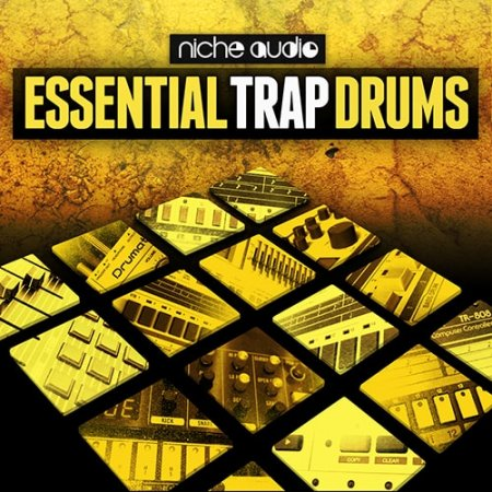 Niche Audio Essential Trap Drums (Ableton Live)