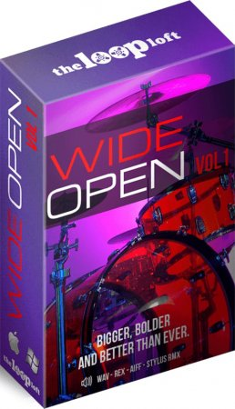 The Loop Loft Wide Open Drums Vol 1
