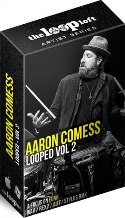 The Loop Loft Aaron Comess Drum Loops Vol 2
