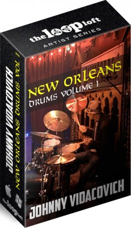 The Loop Loft Johnny Vidacovich New Orleans Drums Vol 1