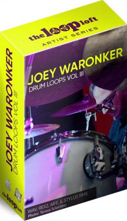 The Loop Loft Joey Waronker Drums Vol 3
