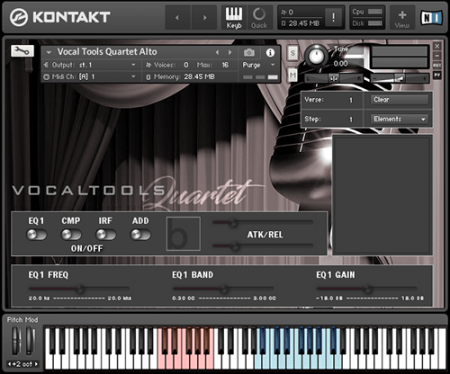 Bela D Media Vocal Tools Quartet (KONTAKT)