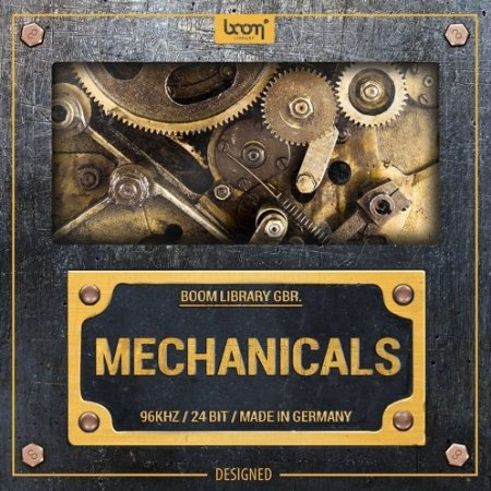 Boom Library Mechanicals Designed