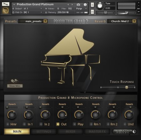 Production Voices Production Grand 2 Platinum (KONTAKT)