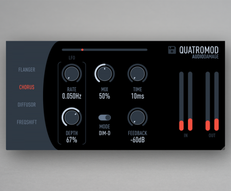 Audio Damage QuatroMod v1.0 x86 x64
