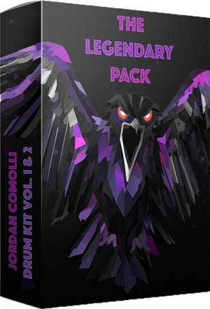 Jordan Comolli Presents THE LEGENDARY PACK Drum Kit Vol.1-2