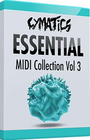 Cymatics Essential MIDI Collection Vol.3: Arp Edition