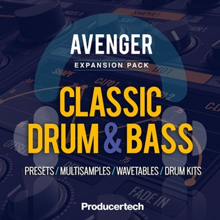Producertech Avenger Classic Drum and Bass Expansion Presets