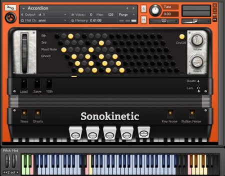 Sonokinetic Accordion (KONTAKT)