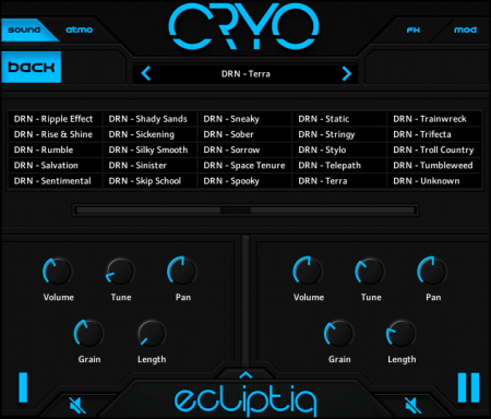 Ecliptiq Audio - CRYO (KONTAKT)