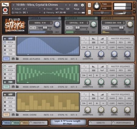 In Session Audio Fluid Strike Tuned Percussion (KONTAKT)