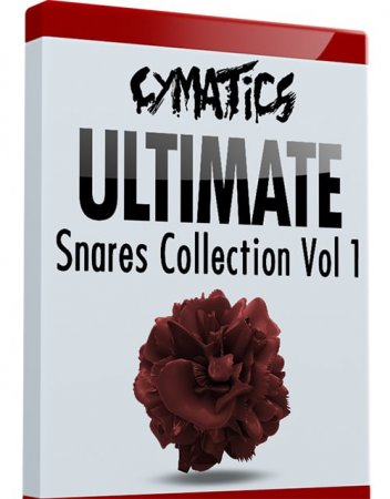 Cymatics Ultimate Snares Collection Vol.1