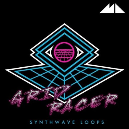 ModeAudio Grid Racer Synthwave Loops