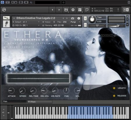 Zero-G ETHERA Soundscapes 2.0 (KONTAKT)