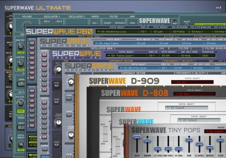 SuperWave Plugins Bundle v1.0.1 x86 x64