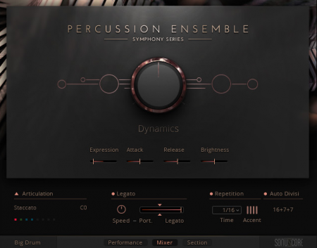 Native Instruments SYMPHONY SERIES PERCUSSION (KONTAKT)
