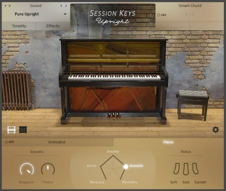 e-instruments Session Keys Upright v.1.0 (KONTAKT)