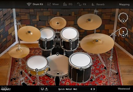 Audio Assault Westwood Drums v1.0.0 x86 x64