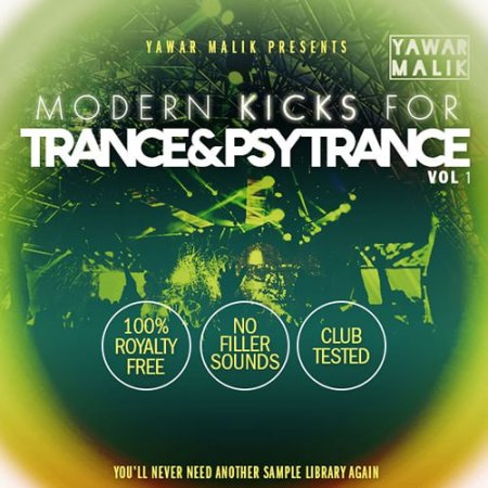 Myloops Yawar Malik Modern Kicks for Trance and Psy Vol.1