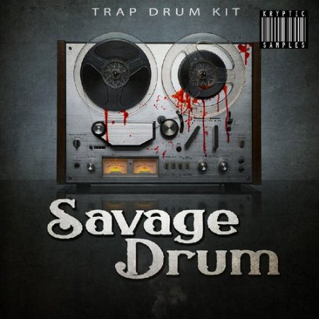 Kryptic Samples Savage Drum