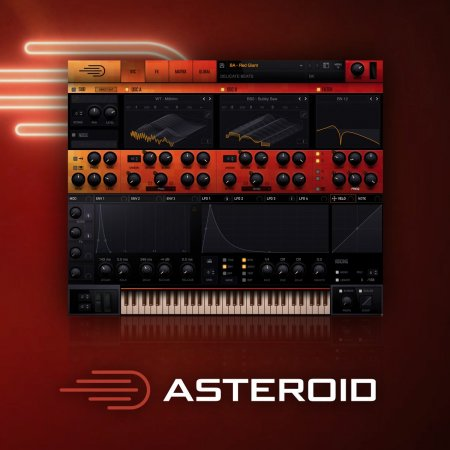 Delicate Beats Asteroid For Serum