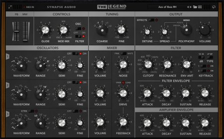 Synapse Audio The Legend v1.2.1 x86 x64