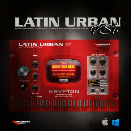 Producers Vault Latin Urban v1.5 x86 x64