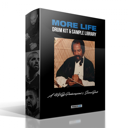 Producer Grind More Life Drum Kit and Sample Library