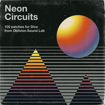 Oblivion Sound Lab Neon Circuits for u‑he Diva