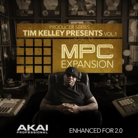 AKAI MPC Software Expansion Tim Kelley Presents Vol.1