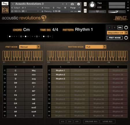Impact Soundworks Acoustic Revolutions 3 (KONTAKT)