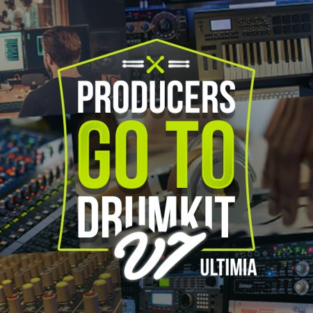 Industrykits Producers GoTo DrumKit V7