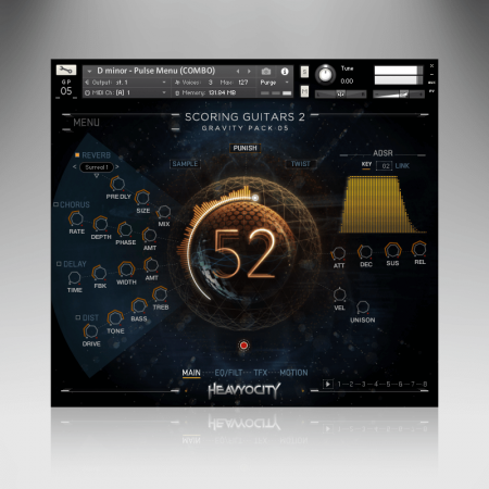 Heavyocity Scoring Guitars 2 (KONTAKT)