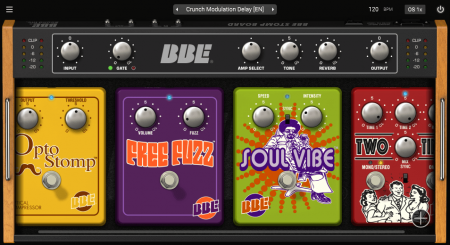 Plugivery BBE Stomp Board v1.0.1 x86 x64