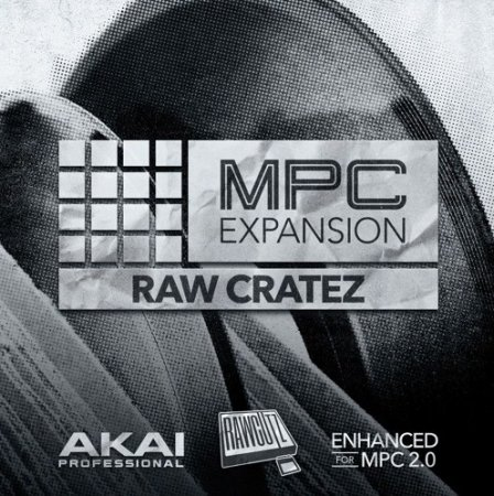 AKAI MPC Software Expansion Raw Cratez