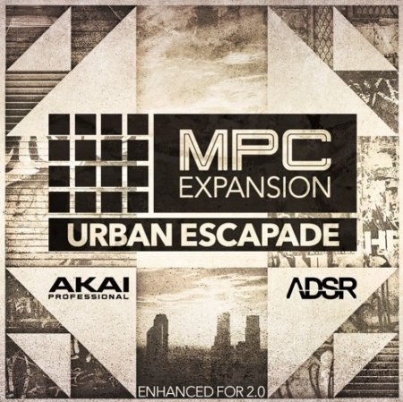 AKAI MPC Software Expansion Urban Escapade