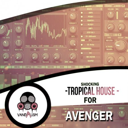 Vandalism Shocking Tropical House For Avenger