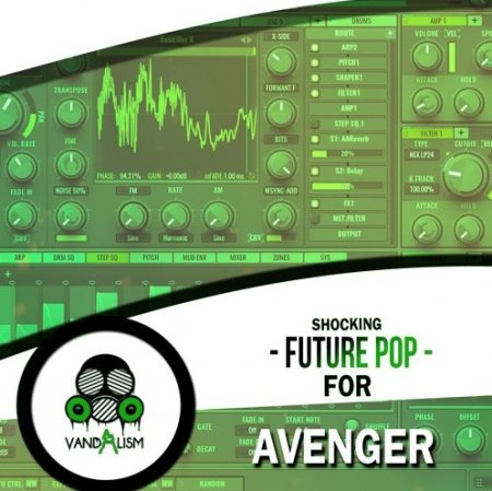Vandalism Shocking Future Pop For Avenger