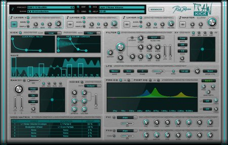 Rob Papen RAW-Kick v1.0.1 x86 x64