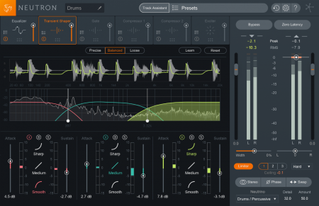 iZotope Neutron Advanced v2.02 x86 x64