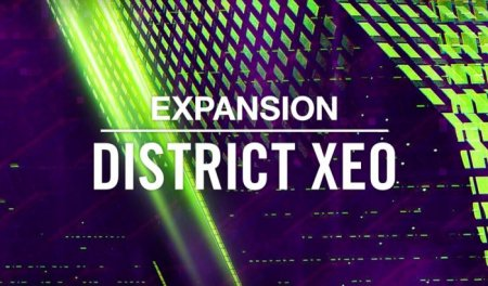 Native Instruments Expansion DISTRICT XEO v1.0.0 (Maschine 2)
