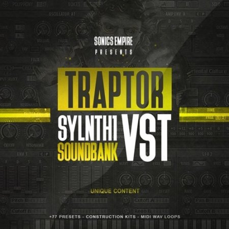 Sonics Empire Traptor Sylenth1 VSTi Sounbank