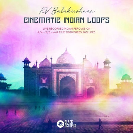 Black Octopus Sound Cinematic Indian Loops
