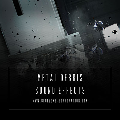 Bluezone Corporation Metal Debris Sound Effects