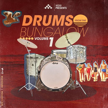 MSXII Drums From The Bungalow Vol.1