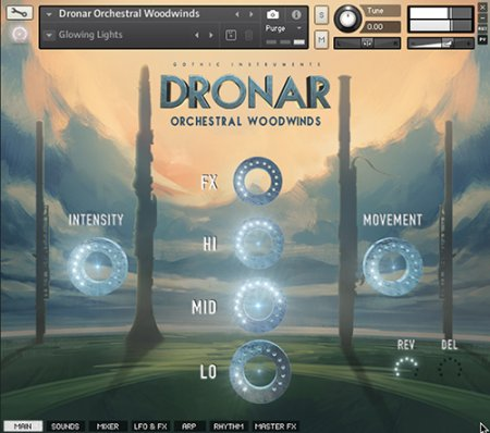 Gothic Instruments DRONAR Orchestral Woodwinds (KONTAKT)