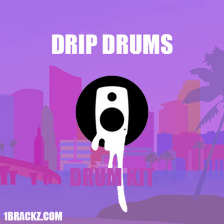 Brackz Drip Drums Drum Kit