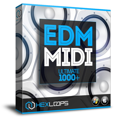 Hex Loops - EDM MIDI Ultimate 1000+ Pack