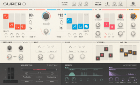 Native Instruments Super 8 v1.0.0.5 (Reaktor)